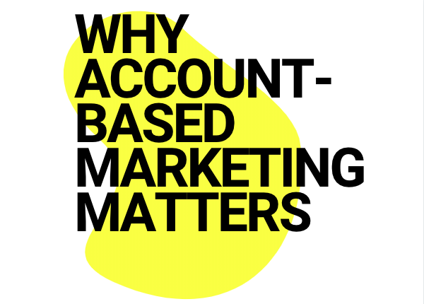 Infographic - WHY ABM MATTERS