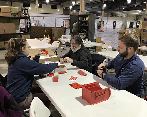 See Clearly - The Earth Data staff volunteered to join Global Vision 2020 help end the global vision epidemic. Our staff sorted prescription lenses for lens kits that will give sight in impoverished nations.