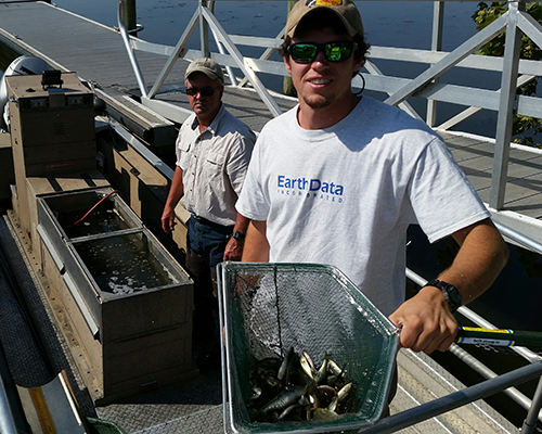 The Catch - Paul Byerly stocked fish with the Maryland Department of Natural Resources. His contribution is helping replenish the Chesapeake Bay and its tributaries for future generations.