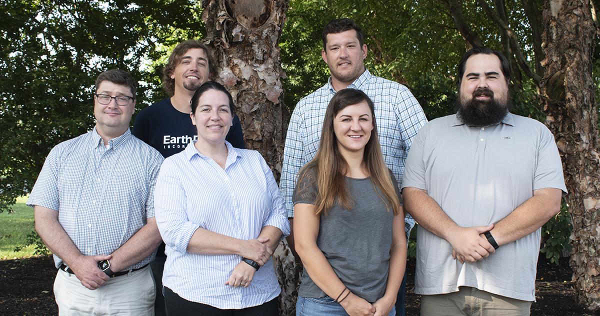 From left, J.P. Stokes, Jeff Chipman, Mary Wakefield, Jake Bram, Avery Dunn, and Scott Wolf