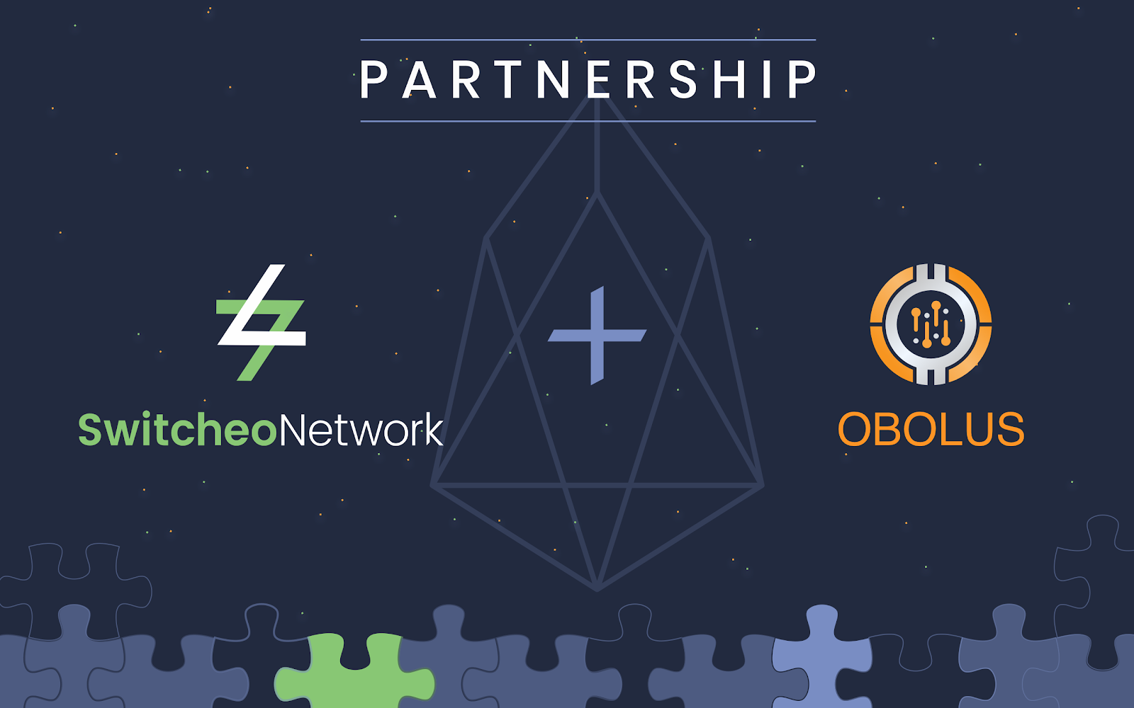 OBOLUS - On April 16th 2019, Switcheo announced a strategic partnership with Obolus — a research and development company that provides solutions in the finance and blockchain sectors. This partnership made the EOS DEX a reality, enabling Switcheo users to trade on the EOS blockchain on Switcheo Exchange.