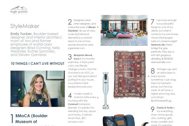 Colorado Home Magazine - November 2017