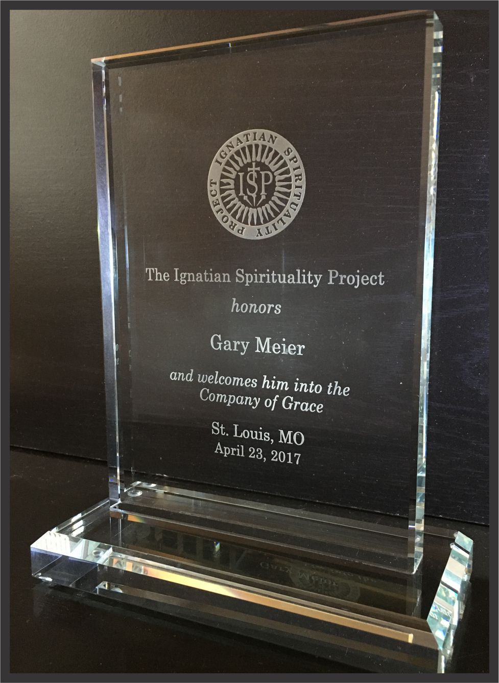 2017 Company of Grace Award