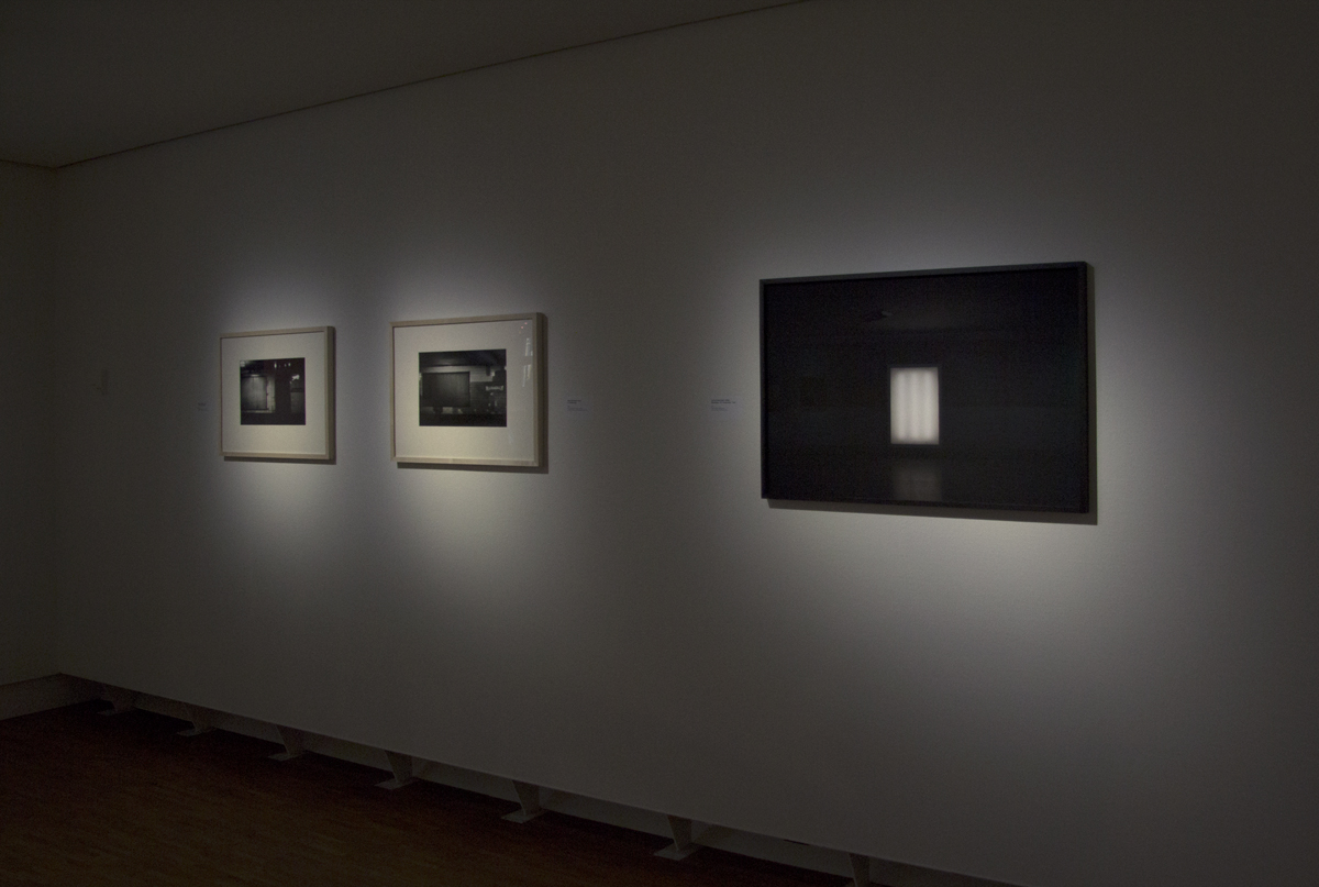 'The Void' at Fotomuseum Den Haag. Exhibition 'Photography and form', 2017