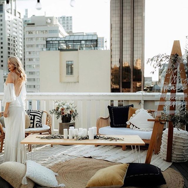 CITY VIBES ⚡️ We had so much fun working with incredible businesses on this shoot  @boheme.events @laikadesigns @zanda_photography @waikarehire @tea_tarte