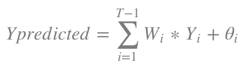 where θ is the absolute error between the prediction and actual sale number.