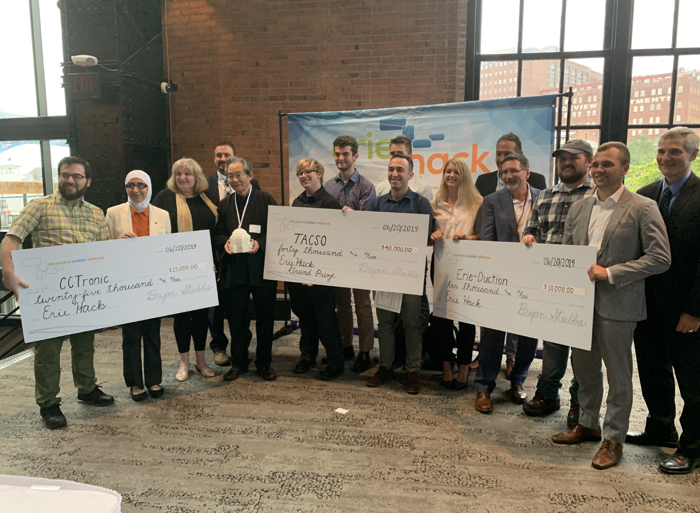 Erie Hack - To celebrate #Cuyahoga50, Cleveland Water Alliance issued a challenge at the beginning of 2019.
