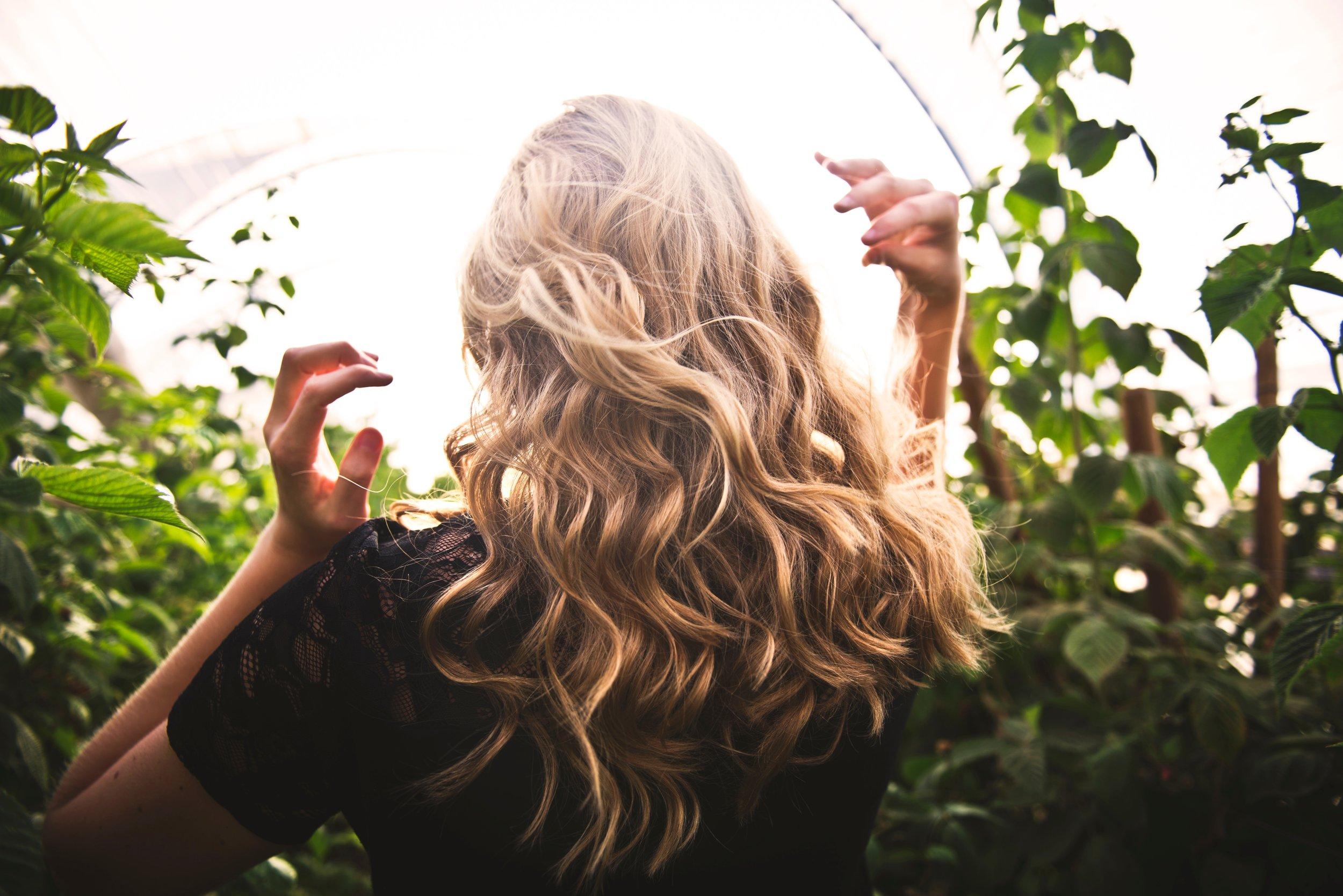 Hair Orange Poppy Spa
