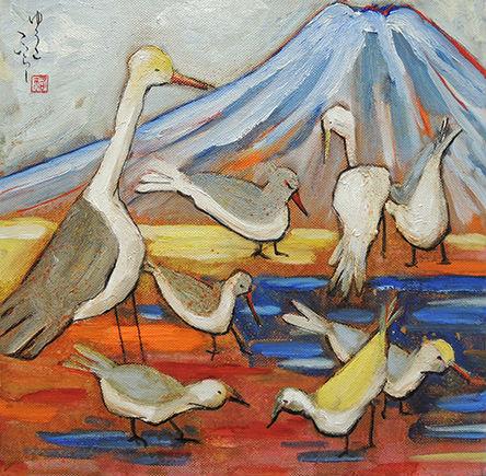 Fuji Birds