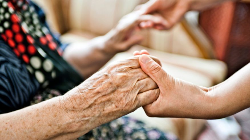 Help a senior in need by providing companionship.