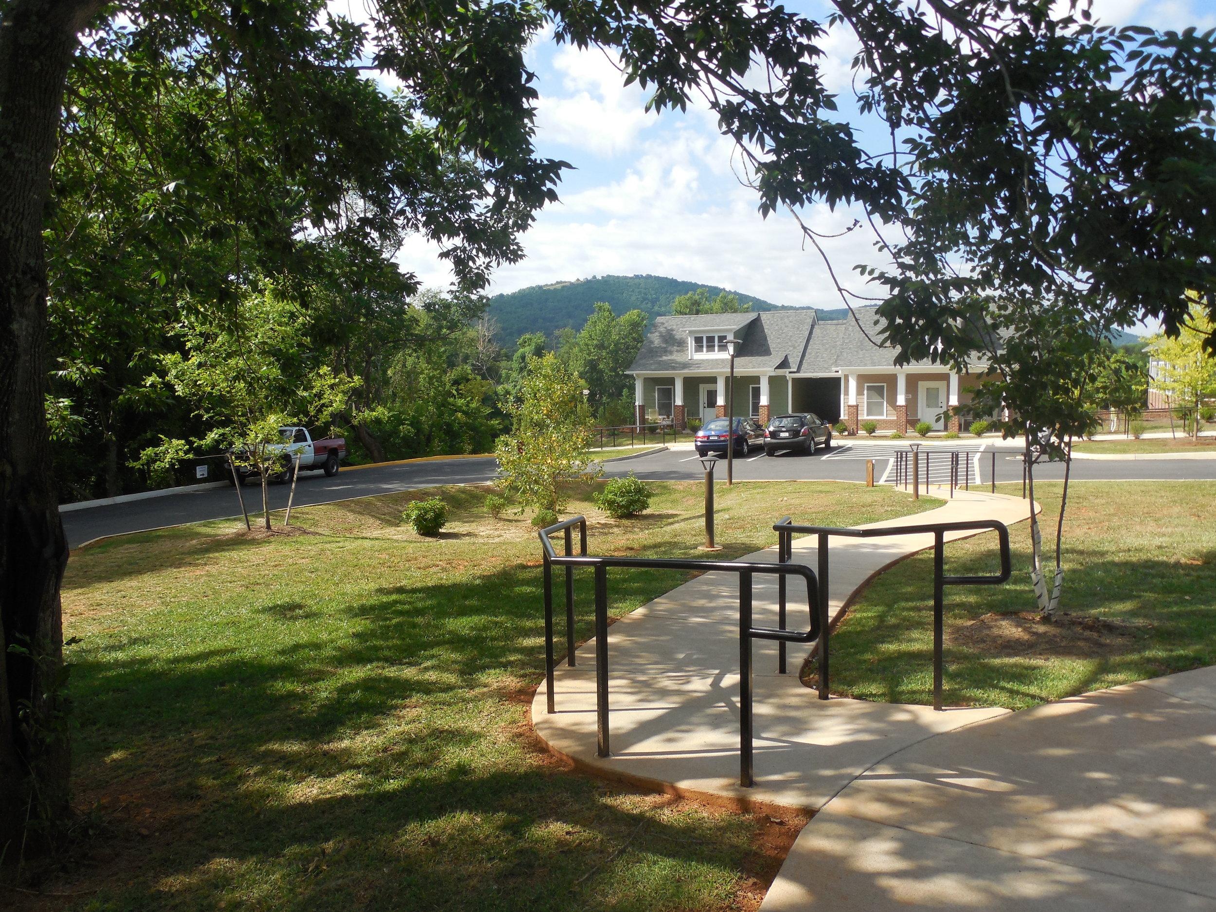 Timberlake Place. JABA's affordable senior housing development in Charlottesville.