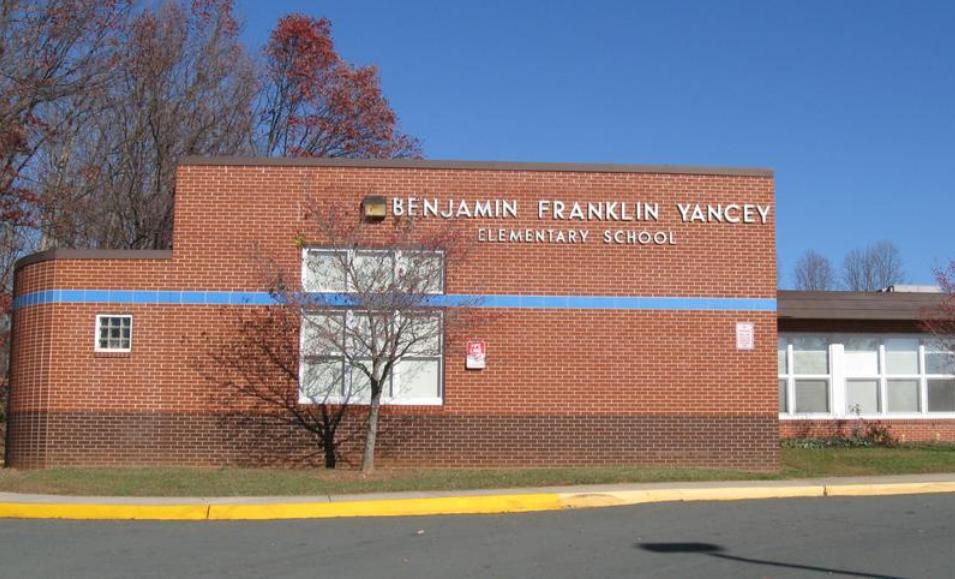 Yancey School Community Center in Esmont.