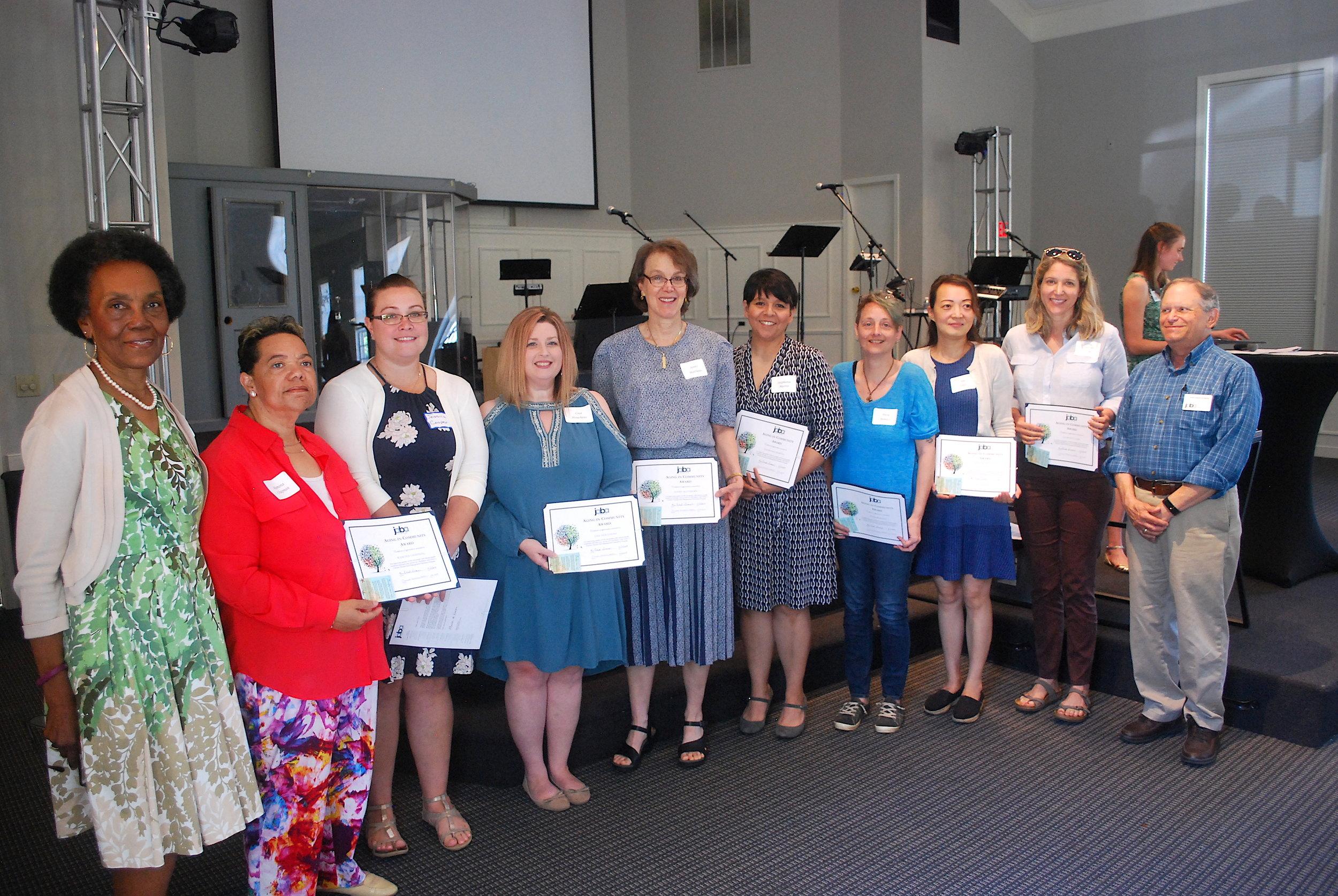 Chronic disease self-management program volunteers.