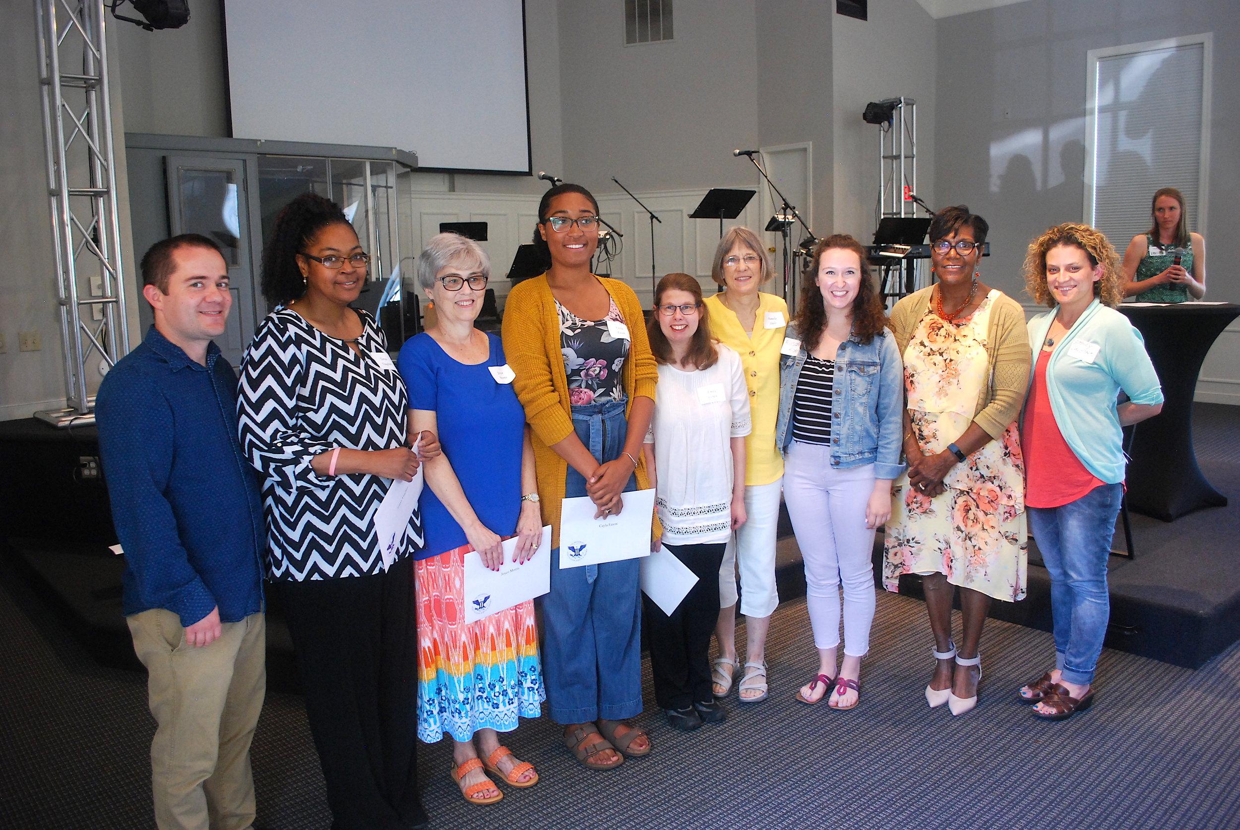 Community Senior Center volunteers.