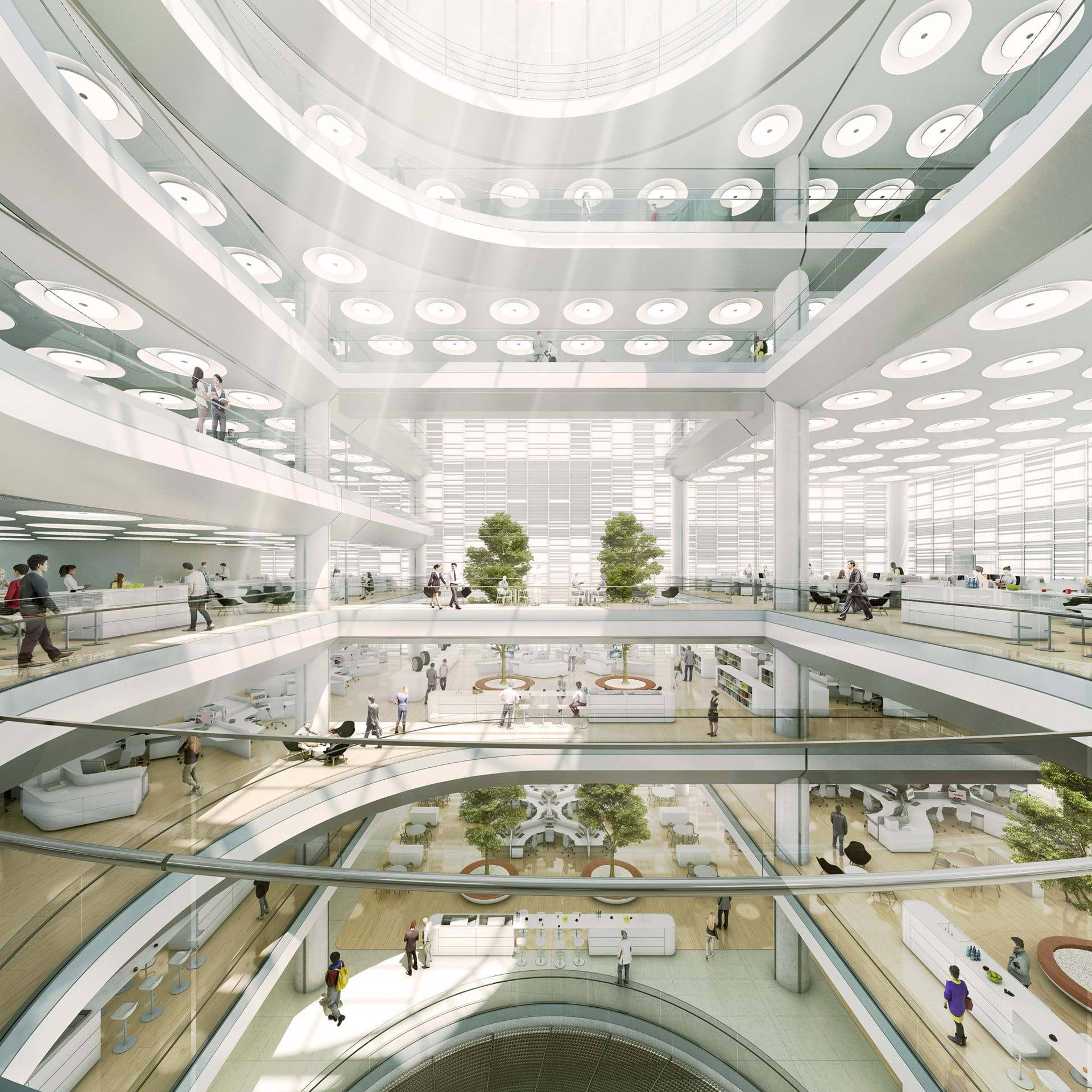 By Foster+Partners Designing Hankook's innovative Seoul HQ.