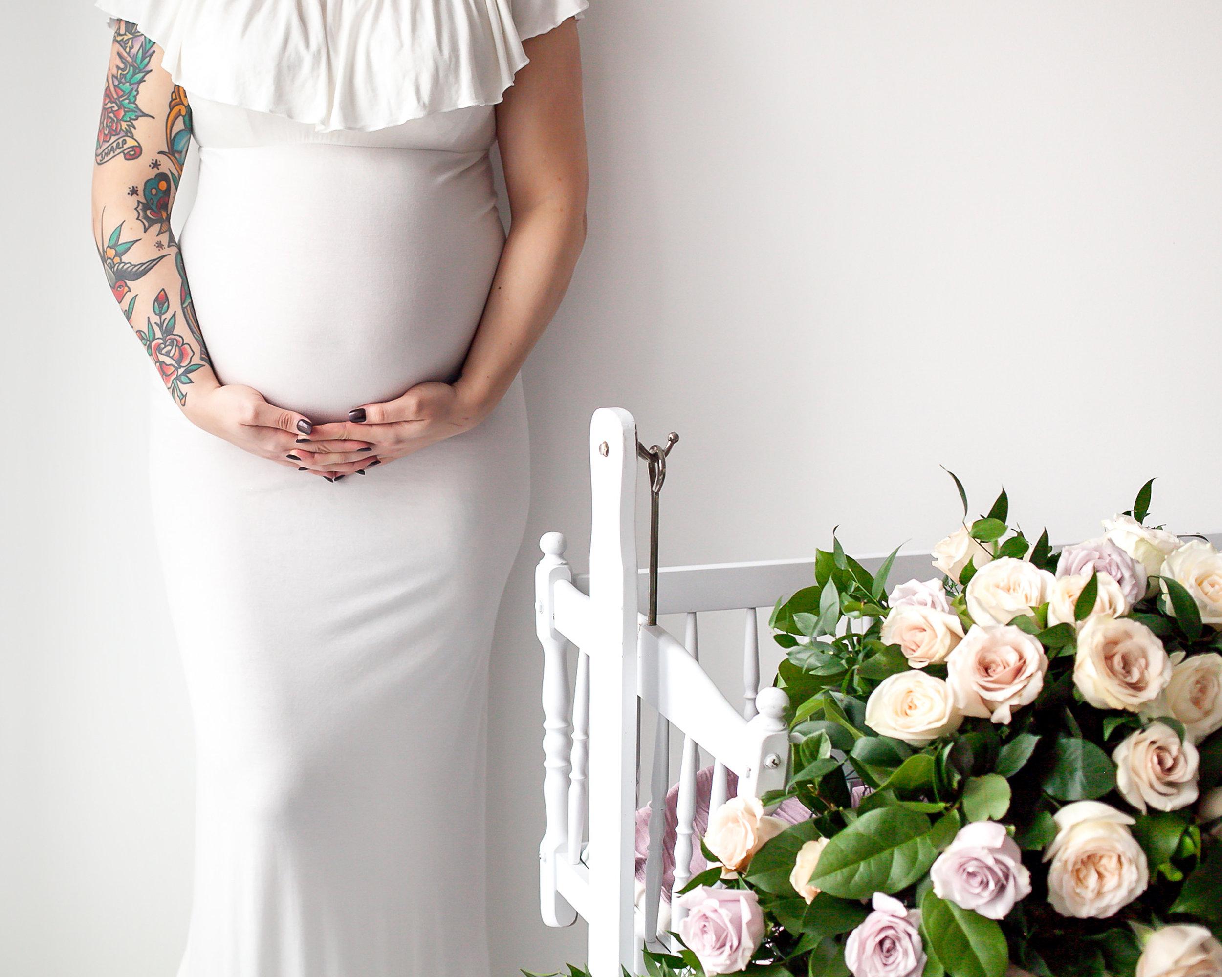 Floral_Maternity_Oshawa_Durham Region_Toronto_Petra_King_Photography