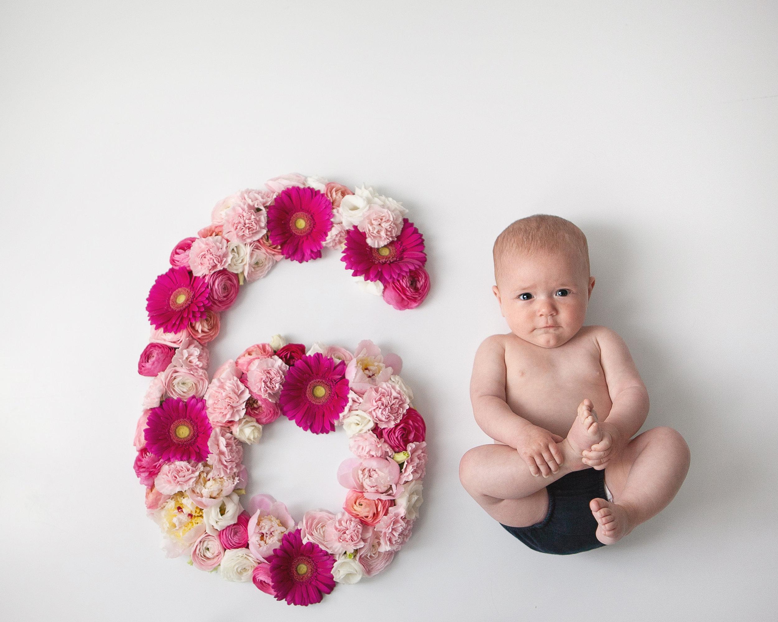 Styled_Floral_Milestone_Oshawa_Baby_Photographer_Petra_King_Photography