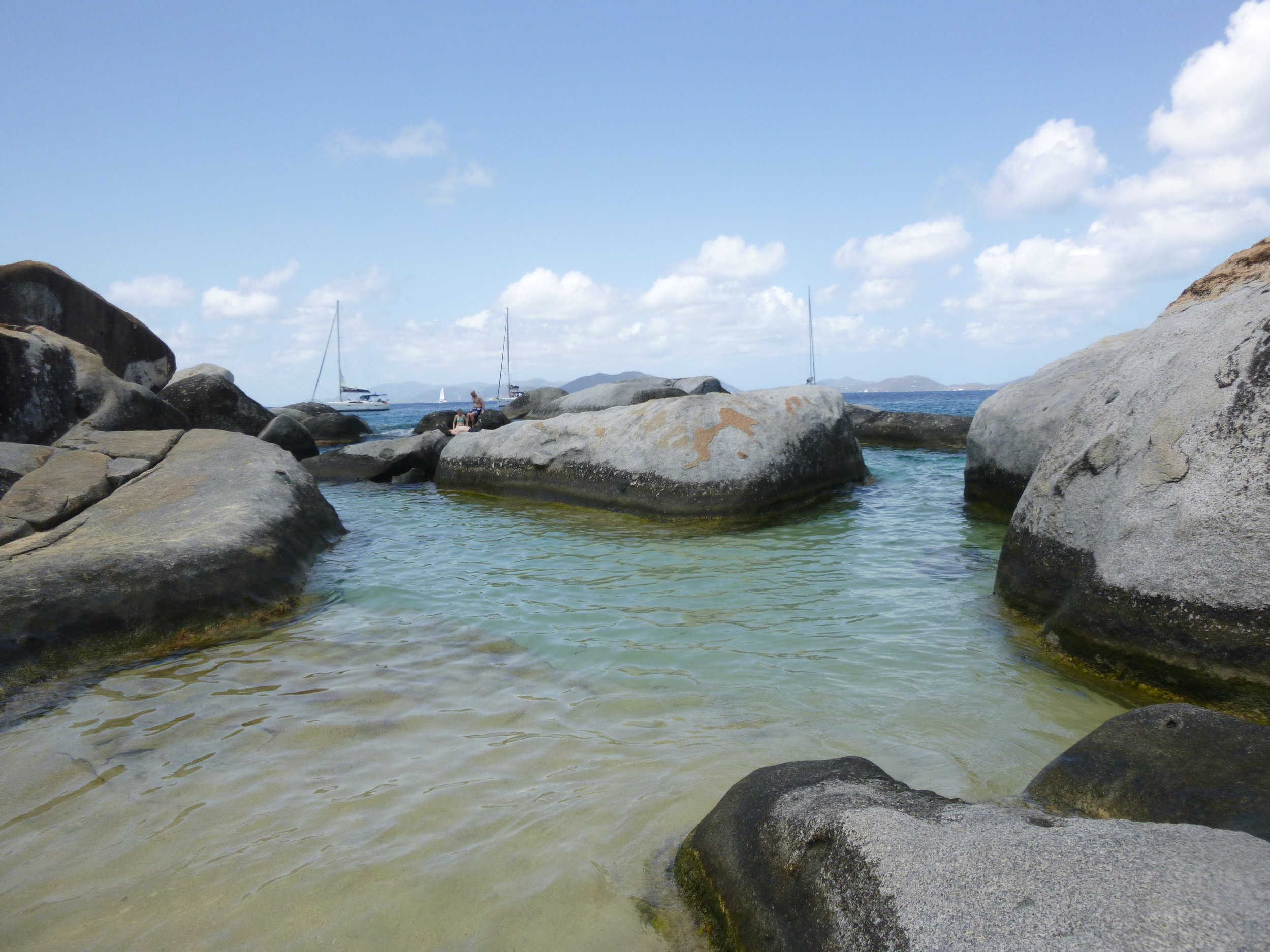 A day at the Baths in BVI….