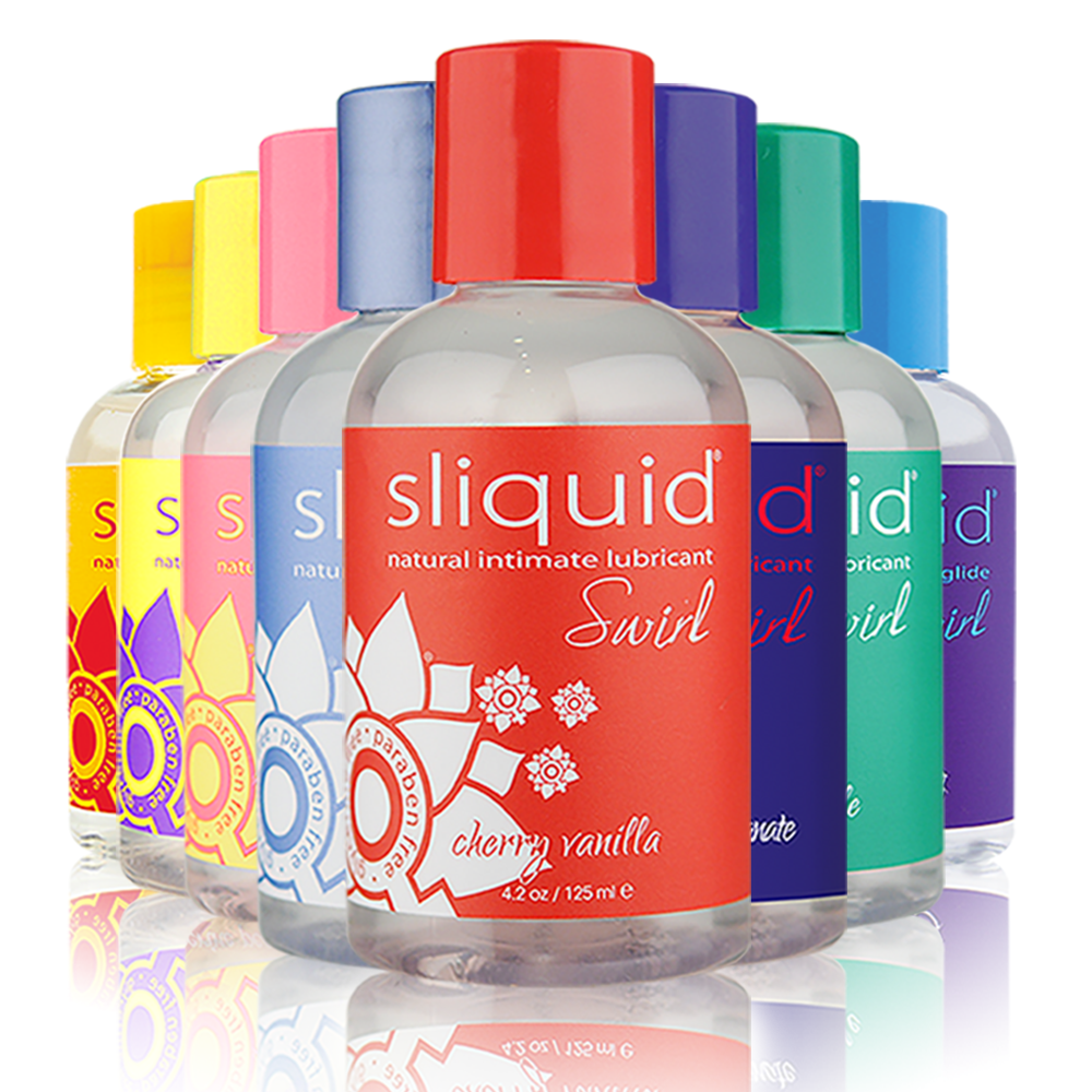 Swirl Flavoured Lubricants by Sliquid