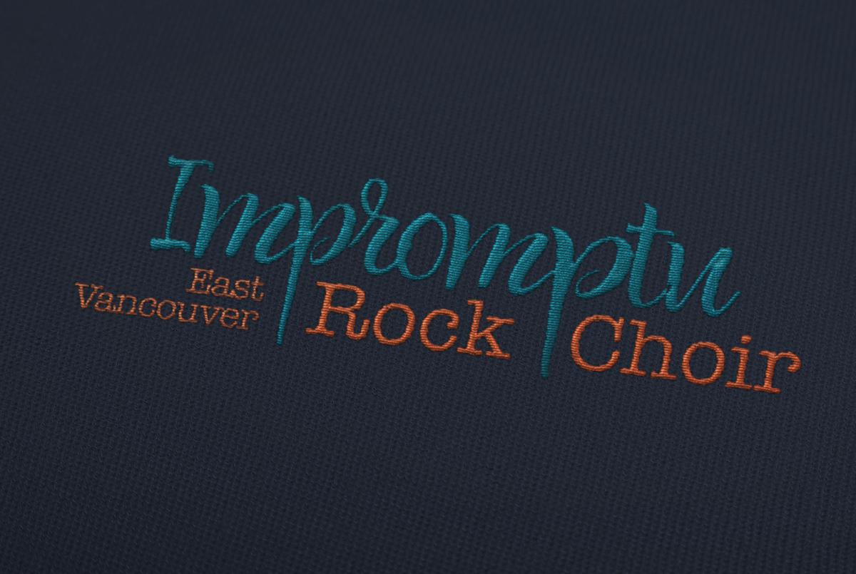 Logo Design: Impromtu Rock Choir