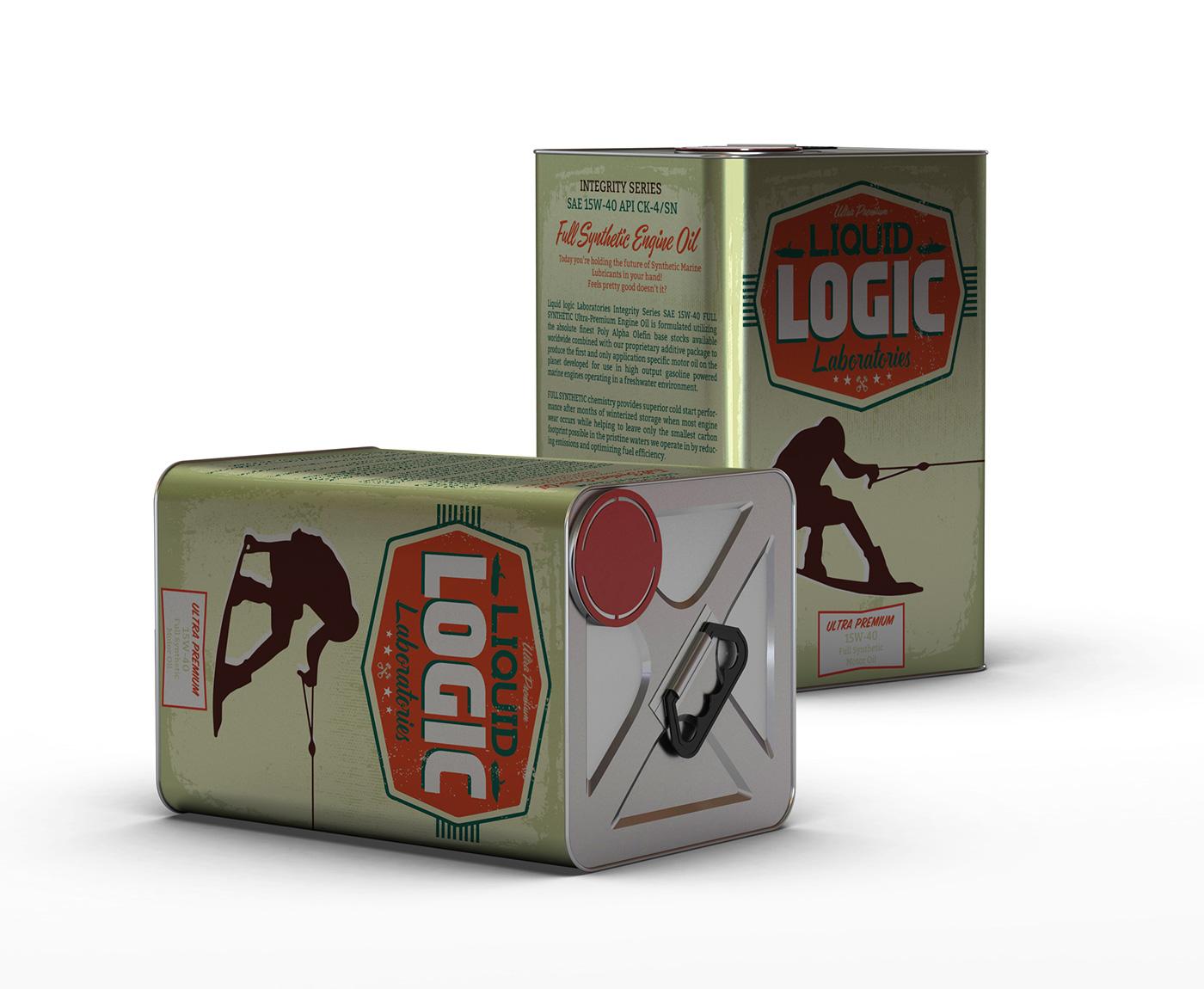 Package Design: Logic League Laboratories