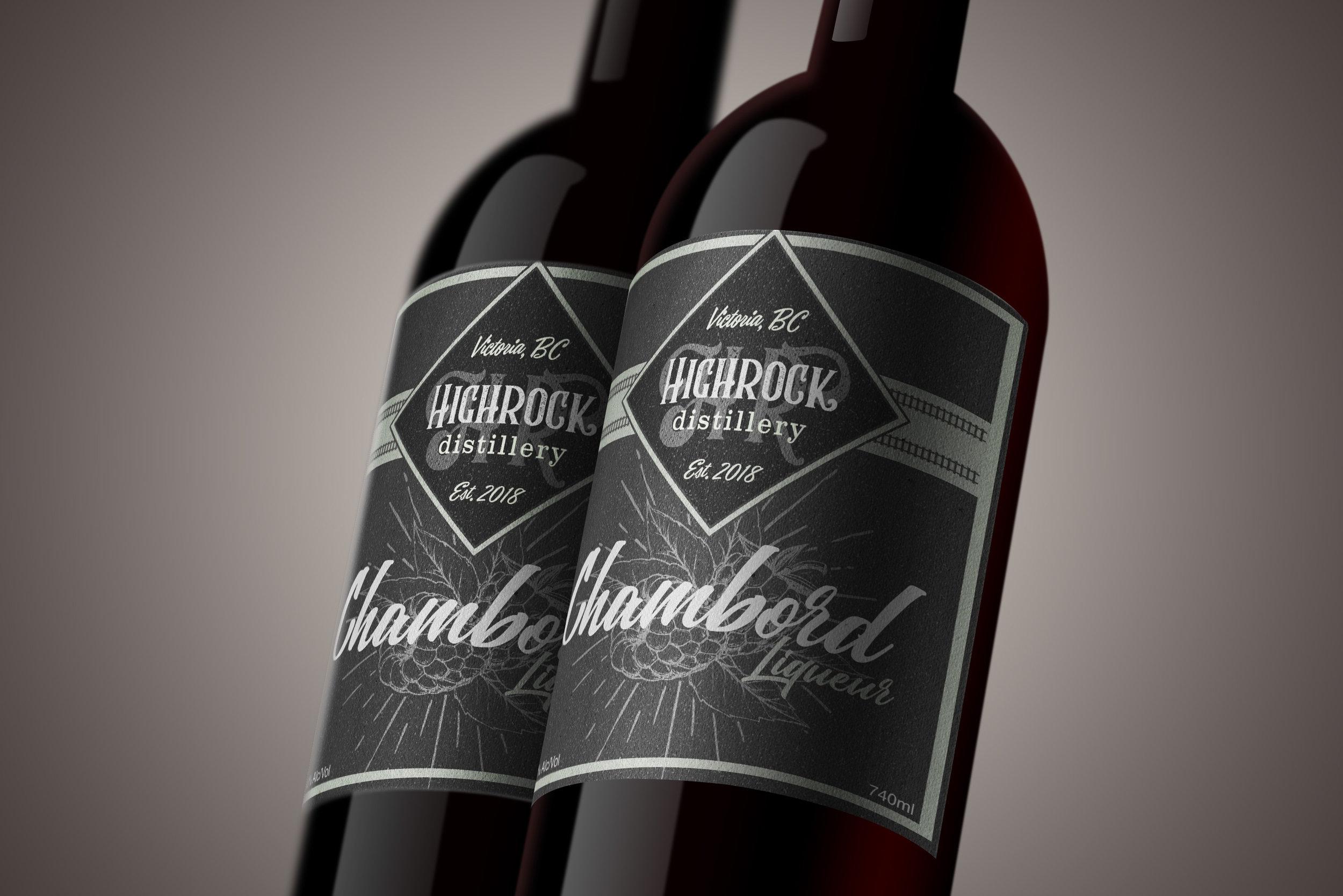 Label & Branding Design: Highrock Distillery
