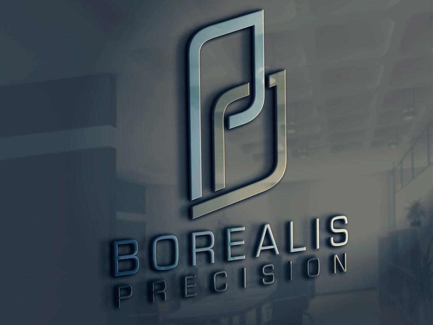 Logo & Branding Design: Borealis Precision