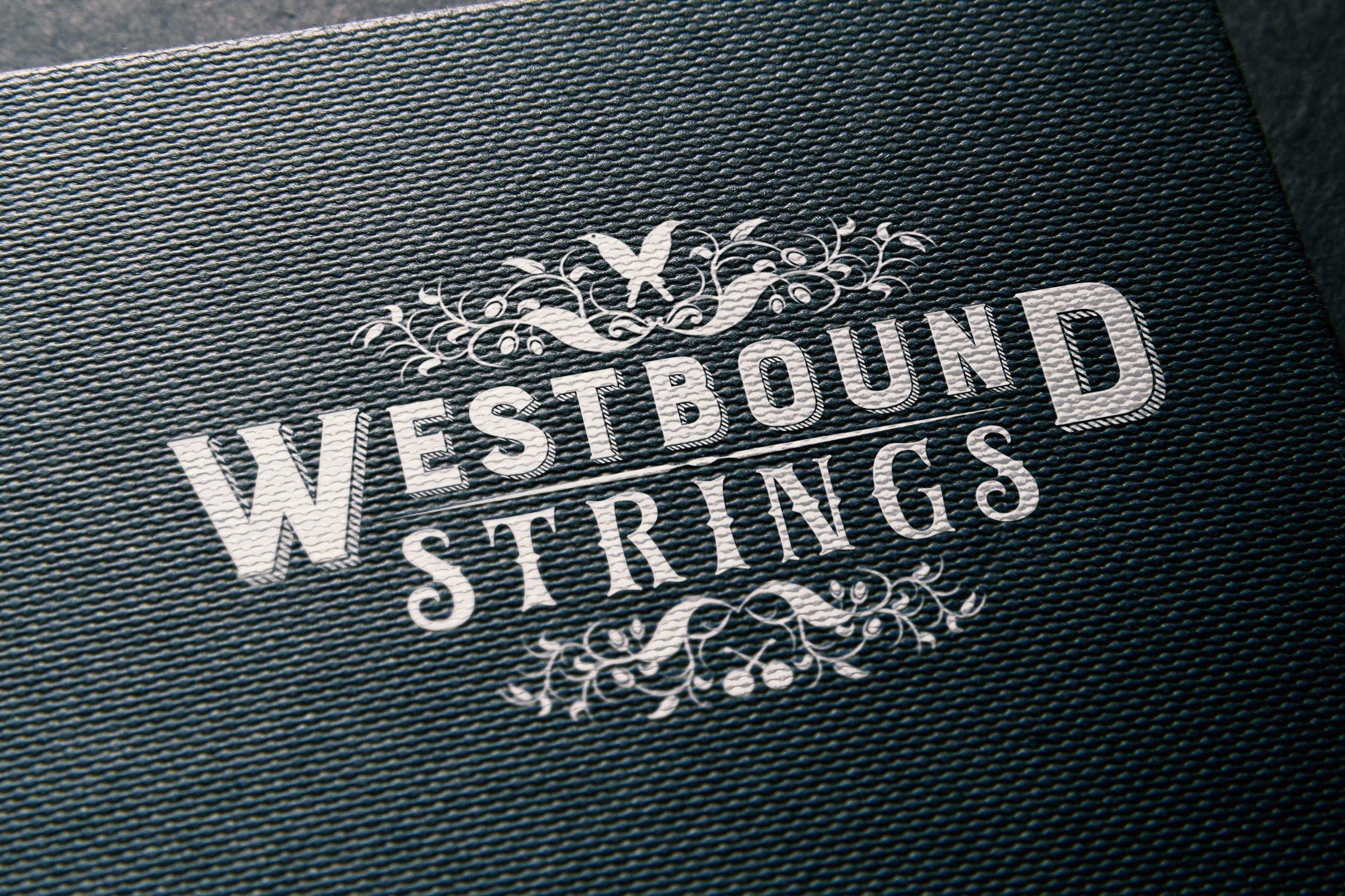 Logo Design: Westbound Strings
