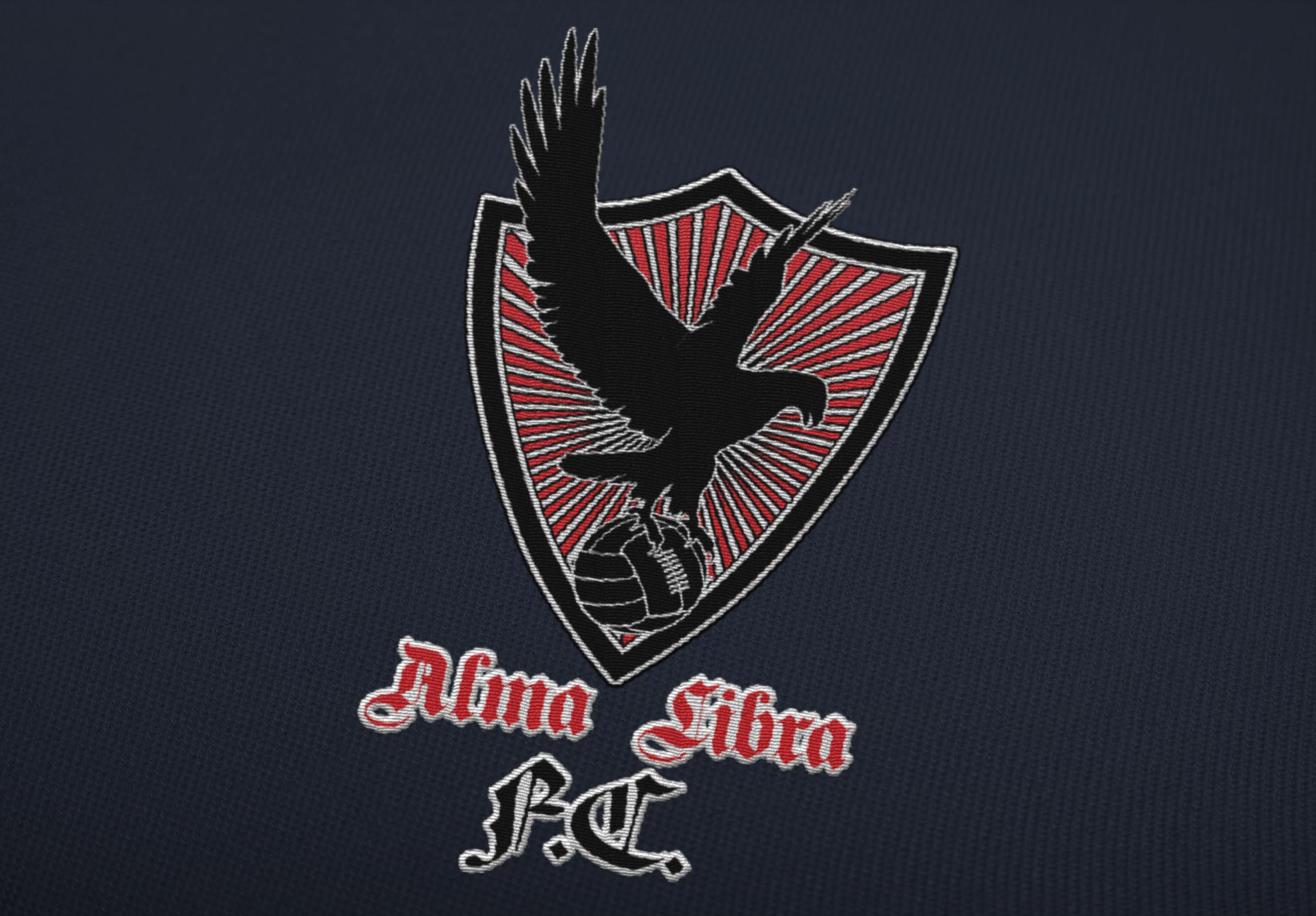 Logo / Embroidery Design: Alma Libre Futbol Association