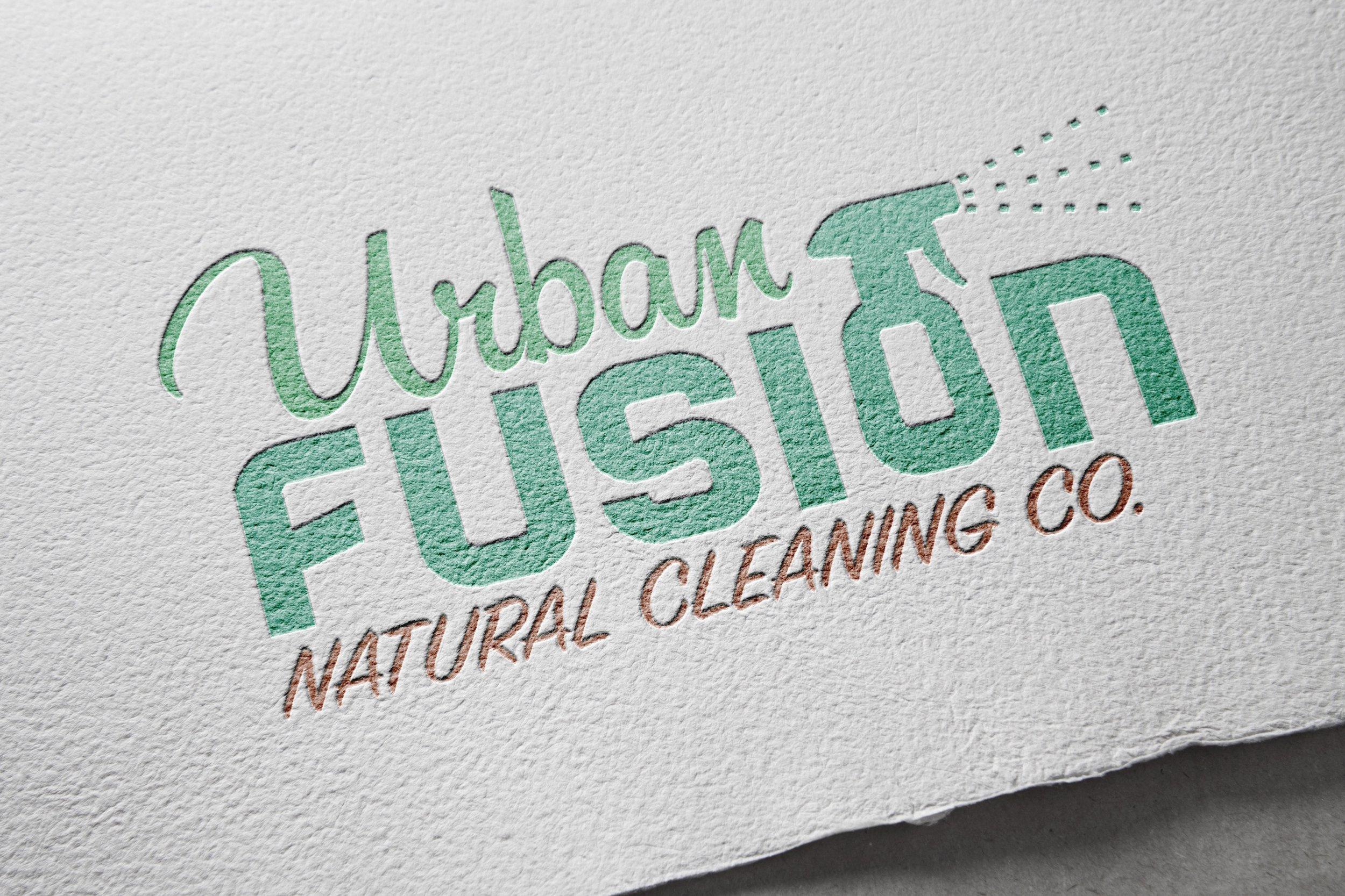 Logo Design: Urban Fusion Cleaning