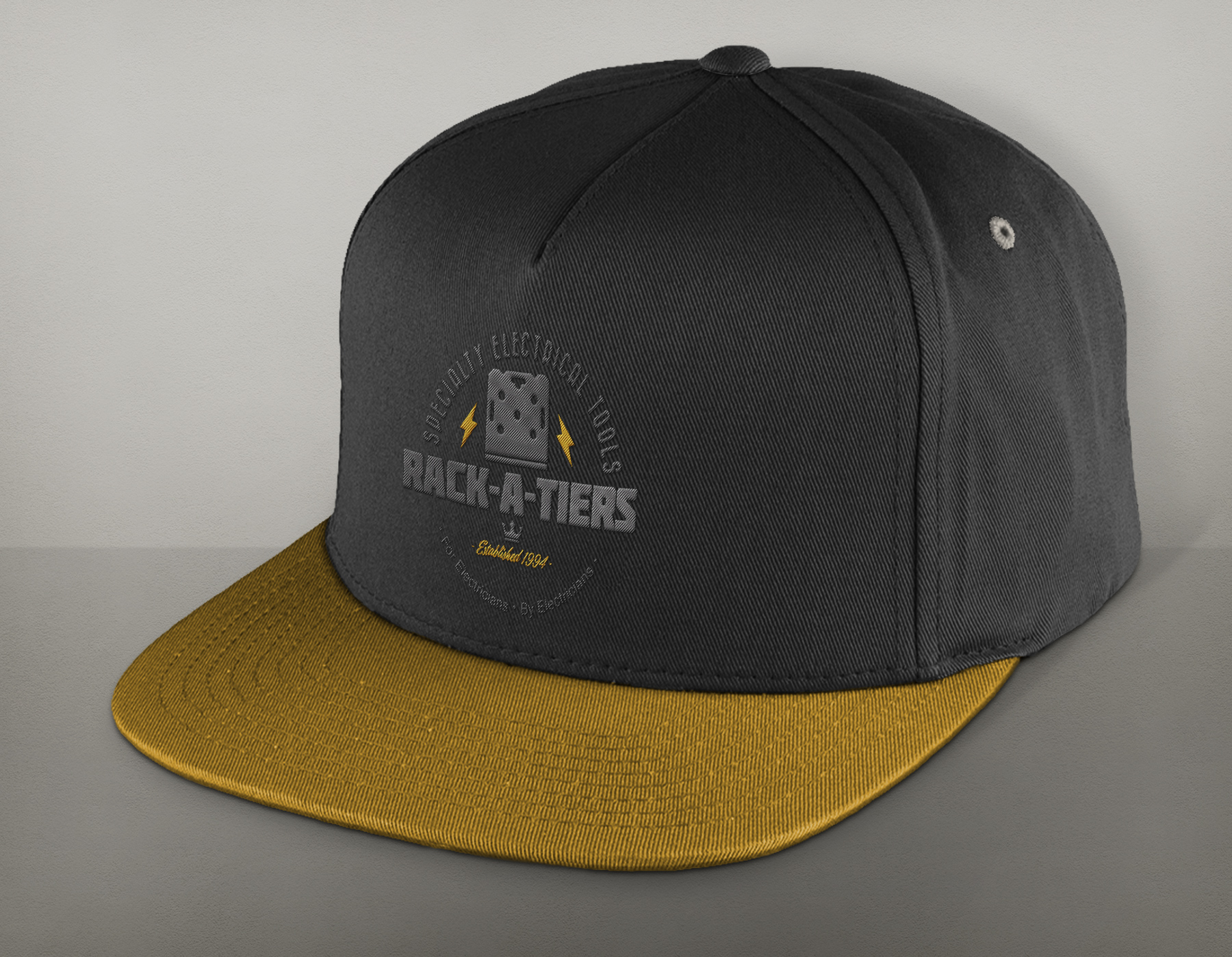 Logo / Embroidery Design: Rack-A-Tiers MFG