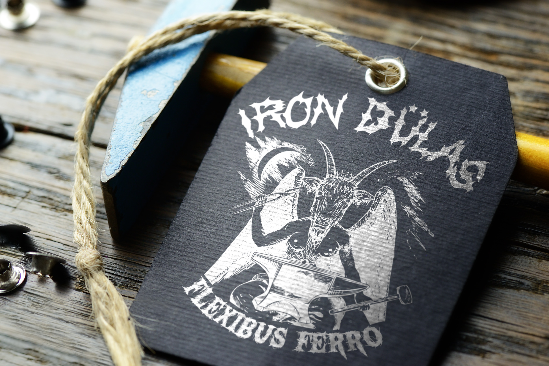 Logo Design: Iron Dülas