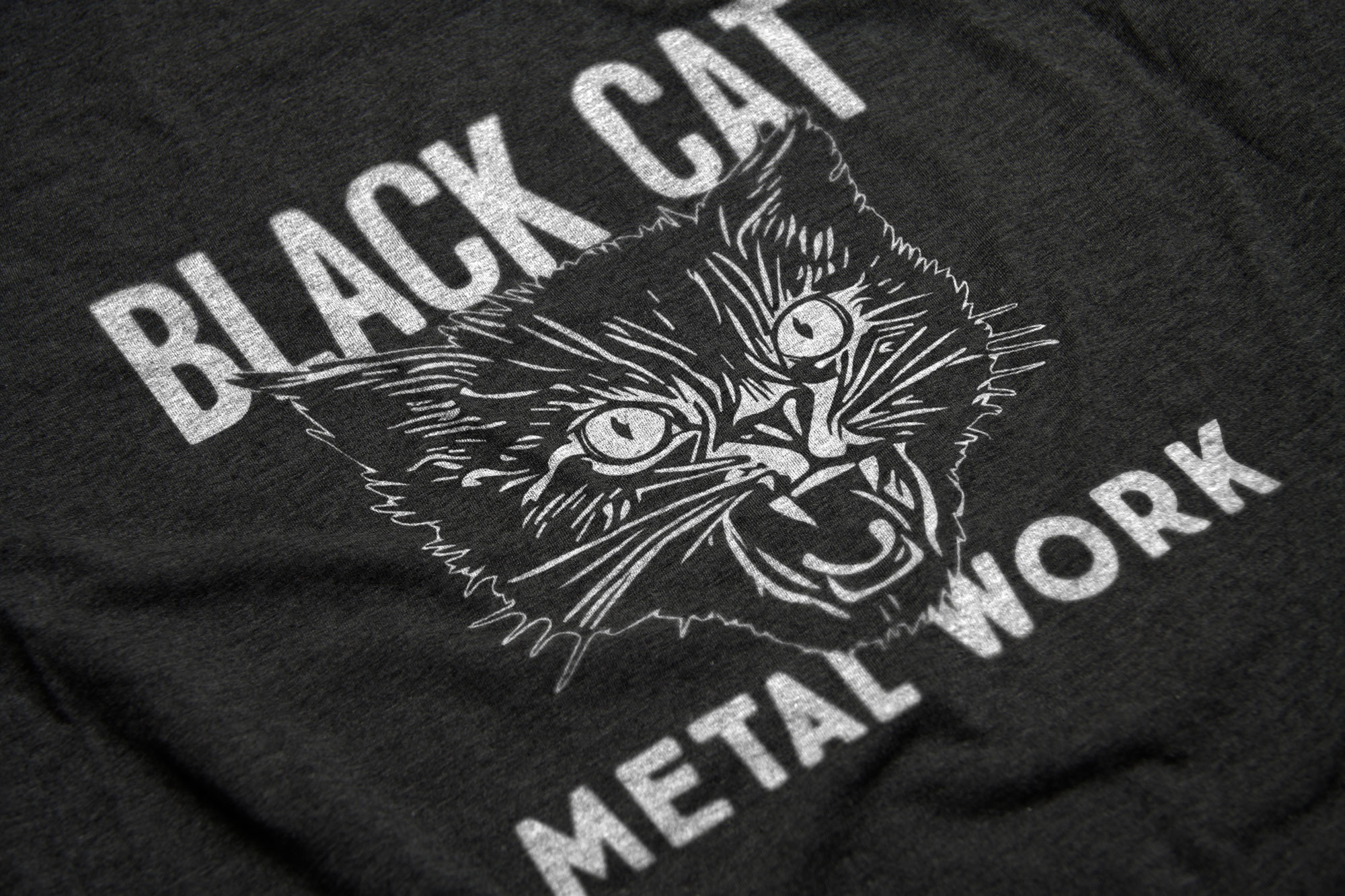 Logo Design: Black Cat Metal Work