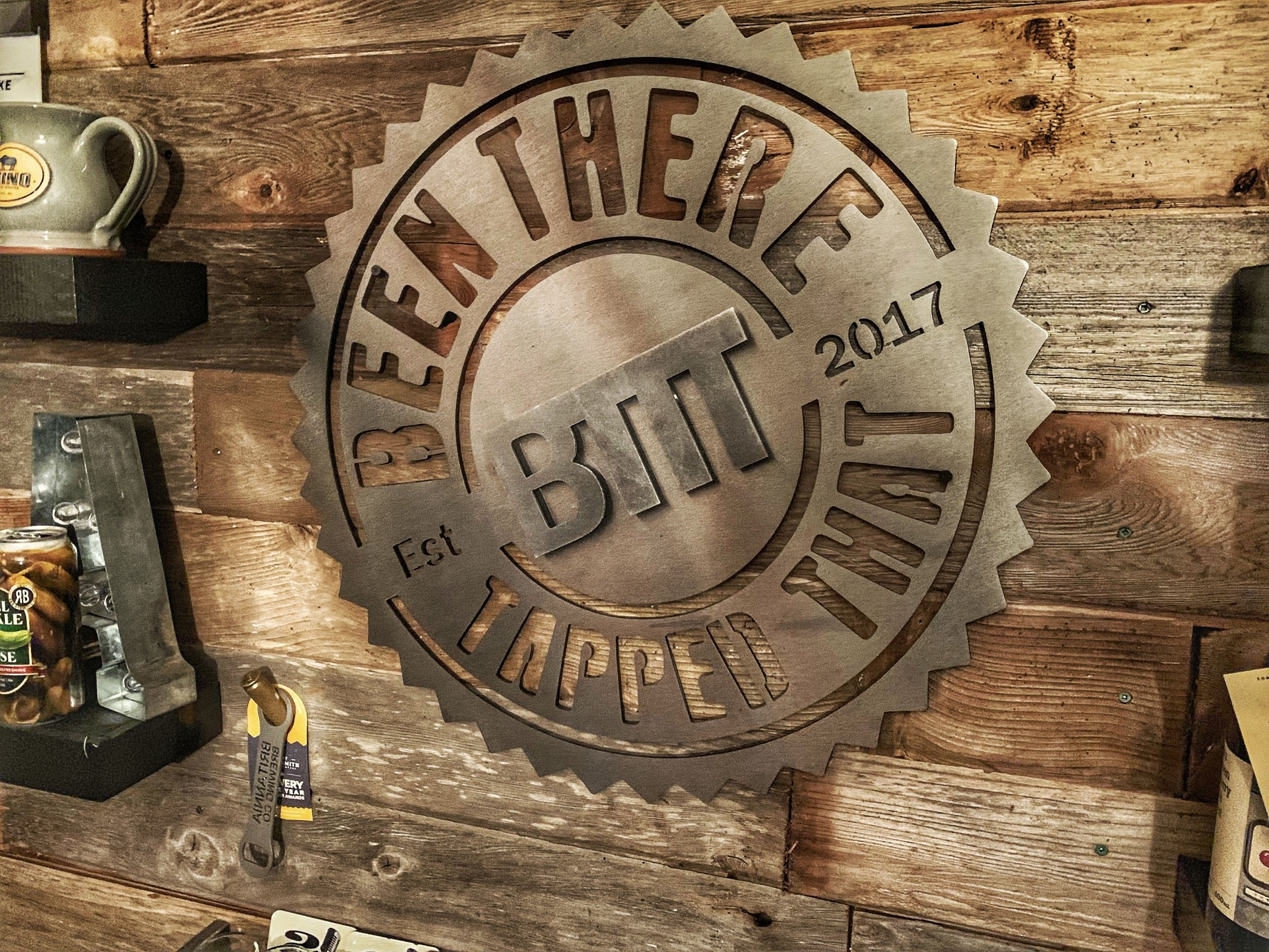 Logo Design: Been There Tapped That