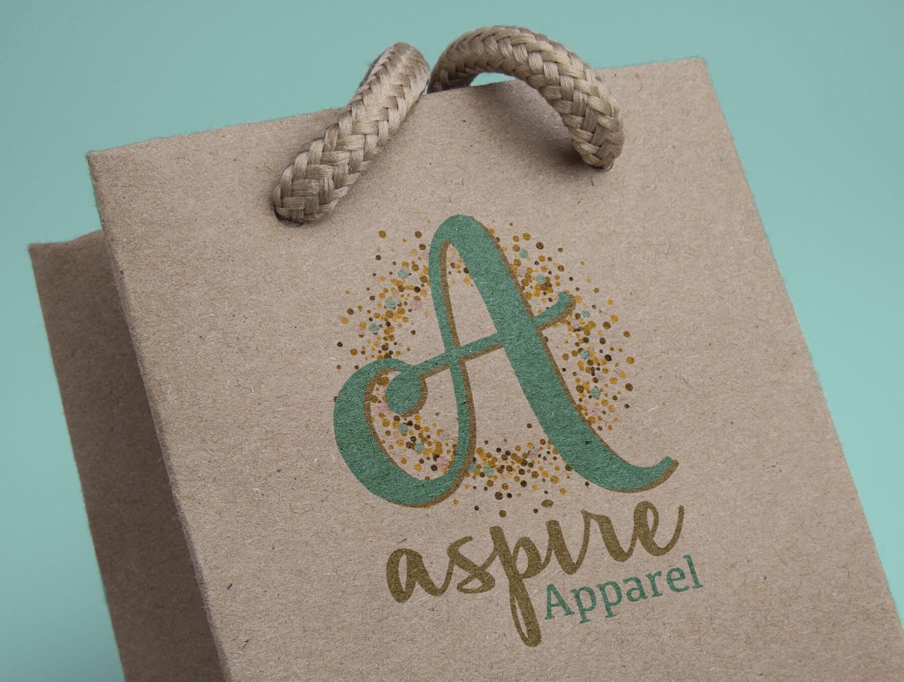 Logo & Branding Design: Aspire Apparel