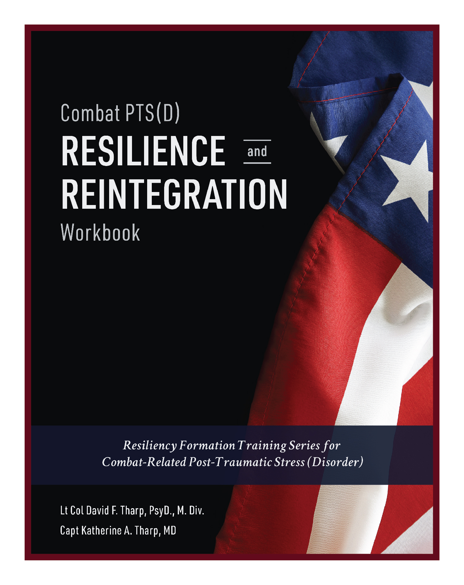 Combat PTS(D) Resilience & Reintegration Workbook - Resiliency Formation Training Series book 1 and workbook designed for individuals struggling with PTS(D)