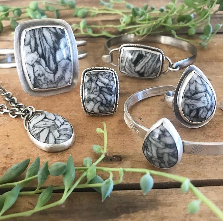 Collection Pinolith & Sterling Pieces
