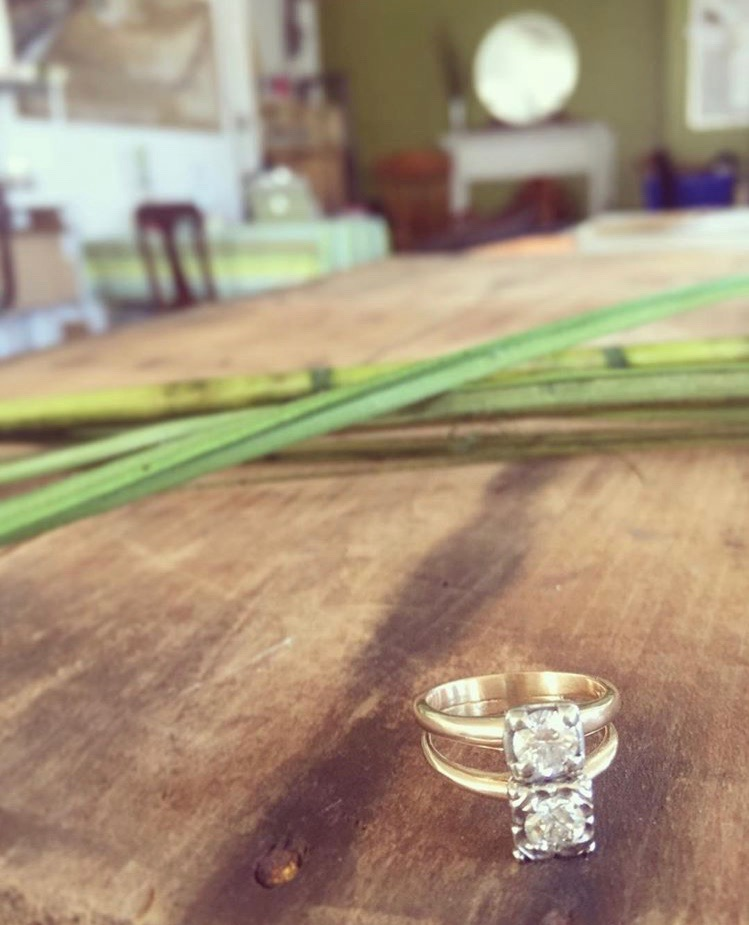 Diamond Wedding Rings Made Into One Ring