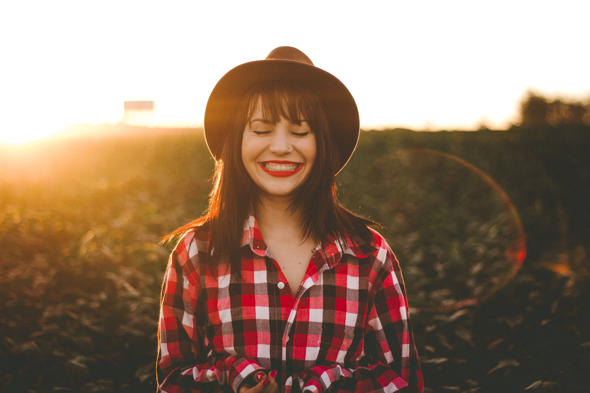 Woman smiling. counseling for anxiety in charlotte, nc