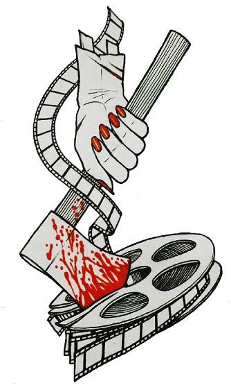 Logo for the Women in Horror Film Festival