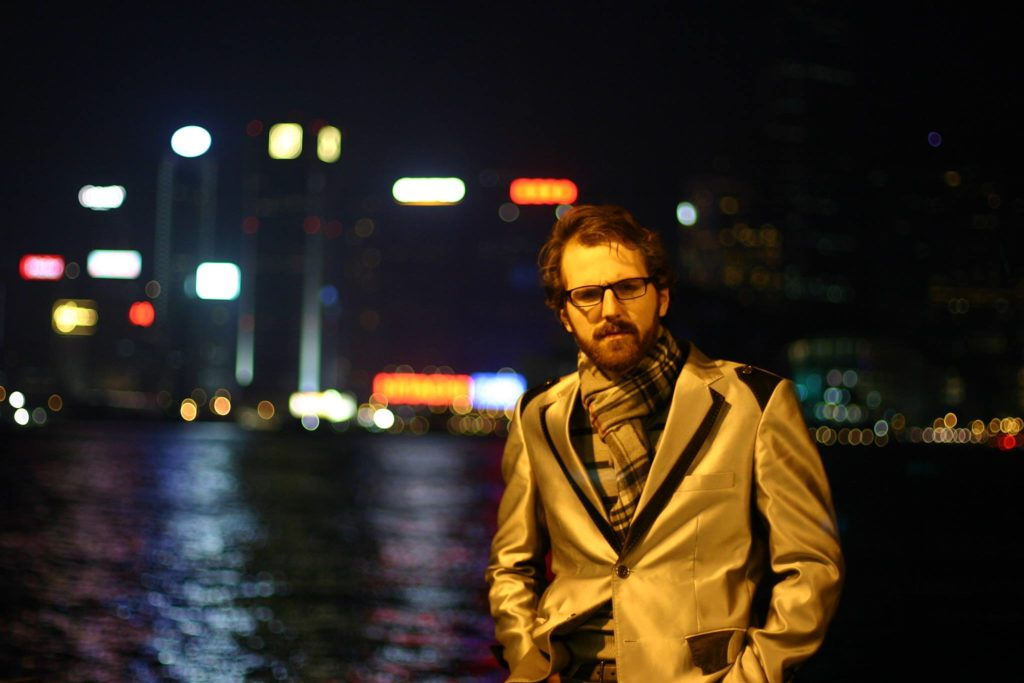Pictured: Greg Sisco in Hong Kong | Photo Credit: Alex Sisco