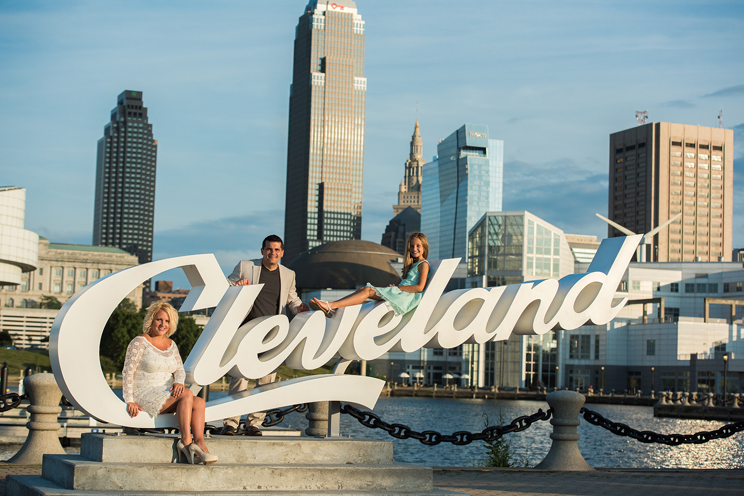 Downtown Cleveland Engagement