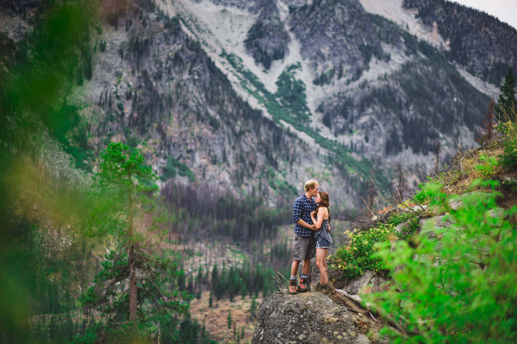 Icicle Ridge Engagement