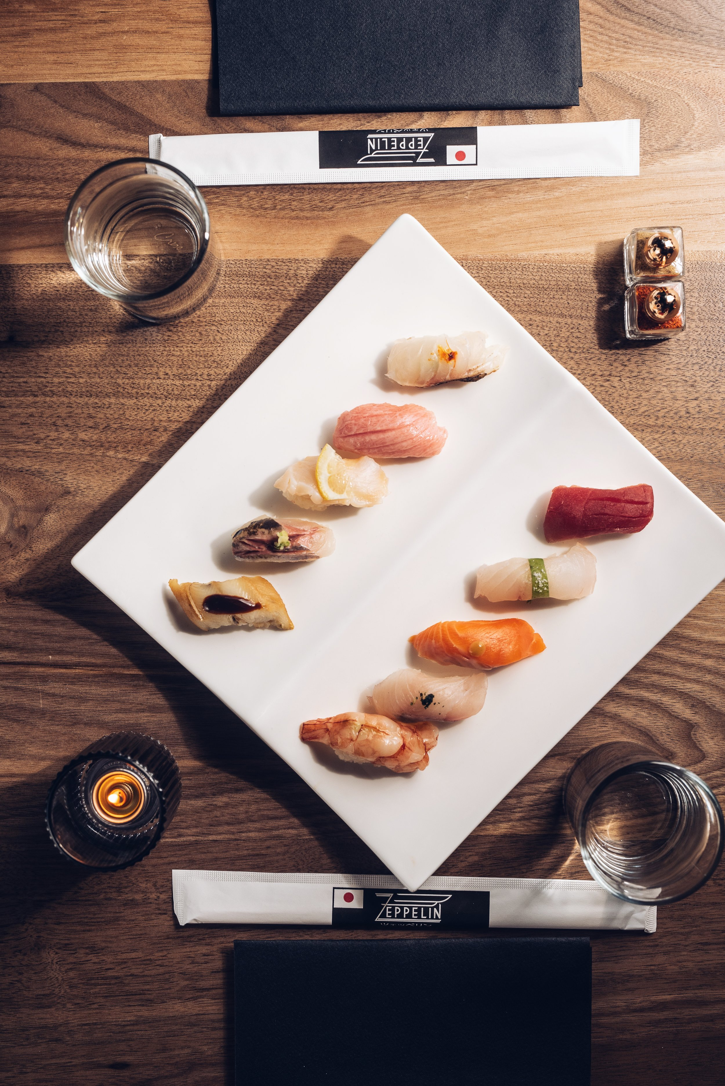 Zeppelin Sushi Platter DC