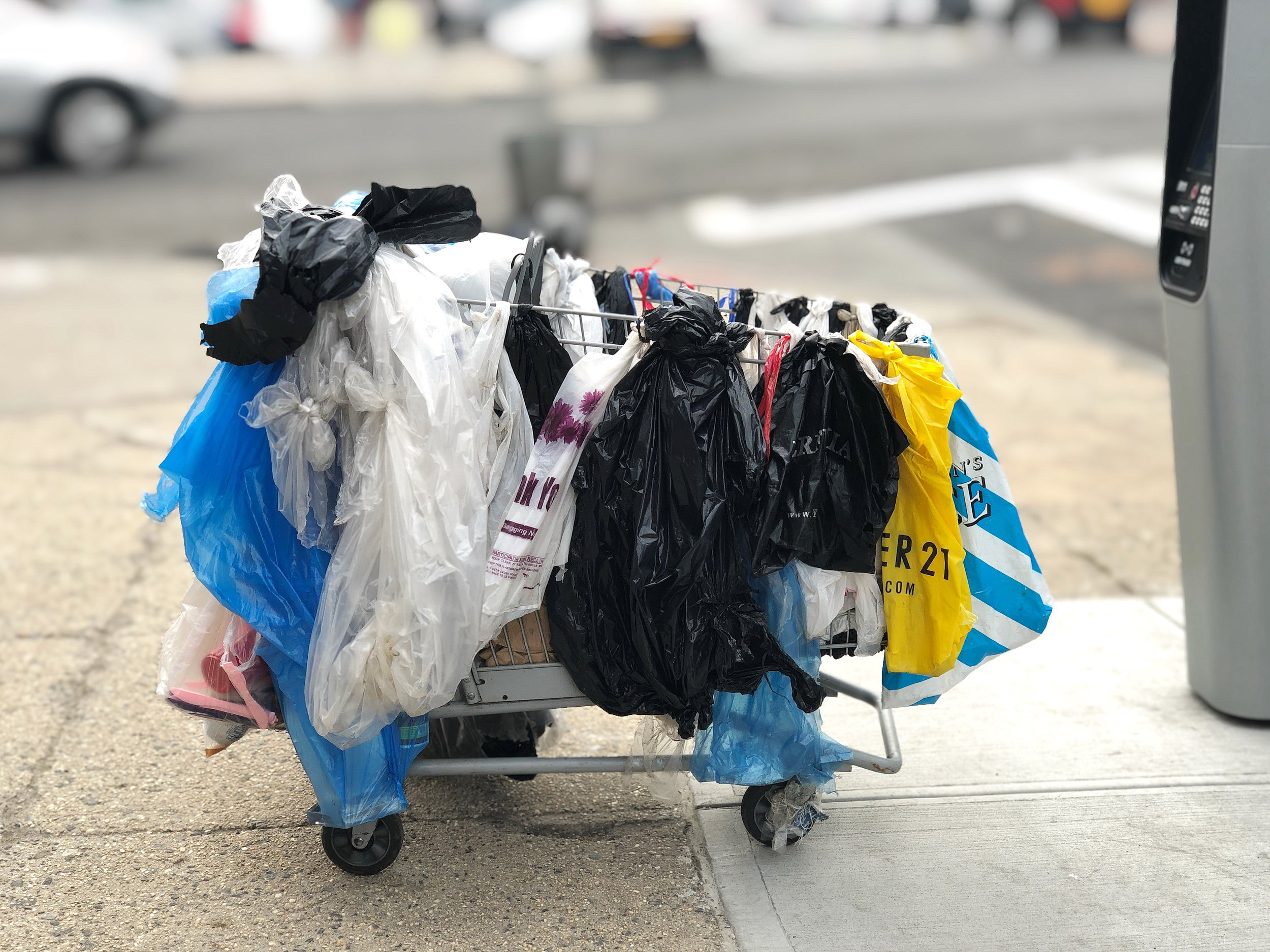 2,000,000 per Minute  - Americans use 2 million single-use plastic bags per minute. Worldwide, use is up to 500 billion per minute. The average use lasts for 12 minutes.