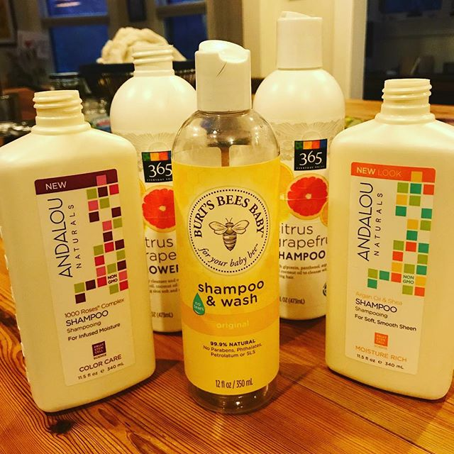 Thus concludes our family's relationship with shampoo/conditioner that comes in plastic bottles! We've gone through our pre-2019 stock, re-filled these a few times, but are headed toward shampoo bars! We will keep you posted on what we learn!  Please share if you have any favorites!