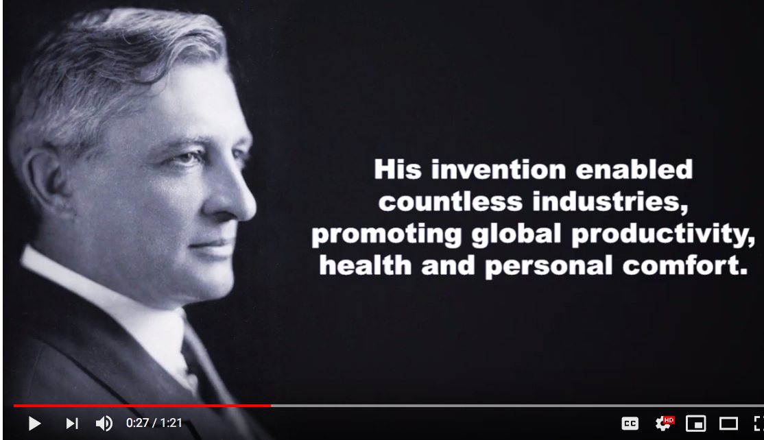 Celebrating Willis Carrier