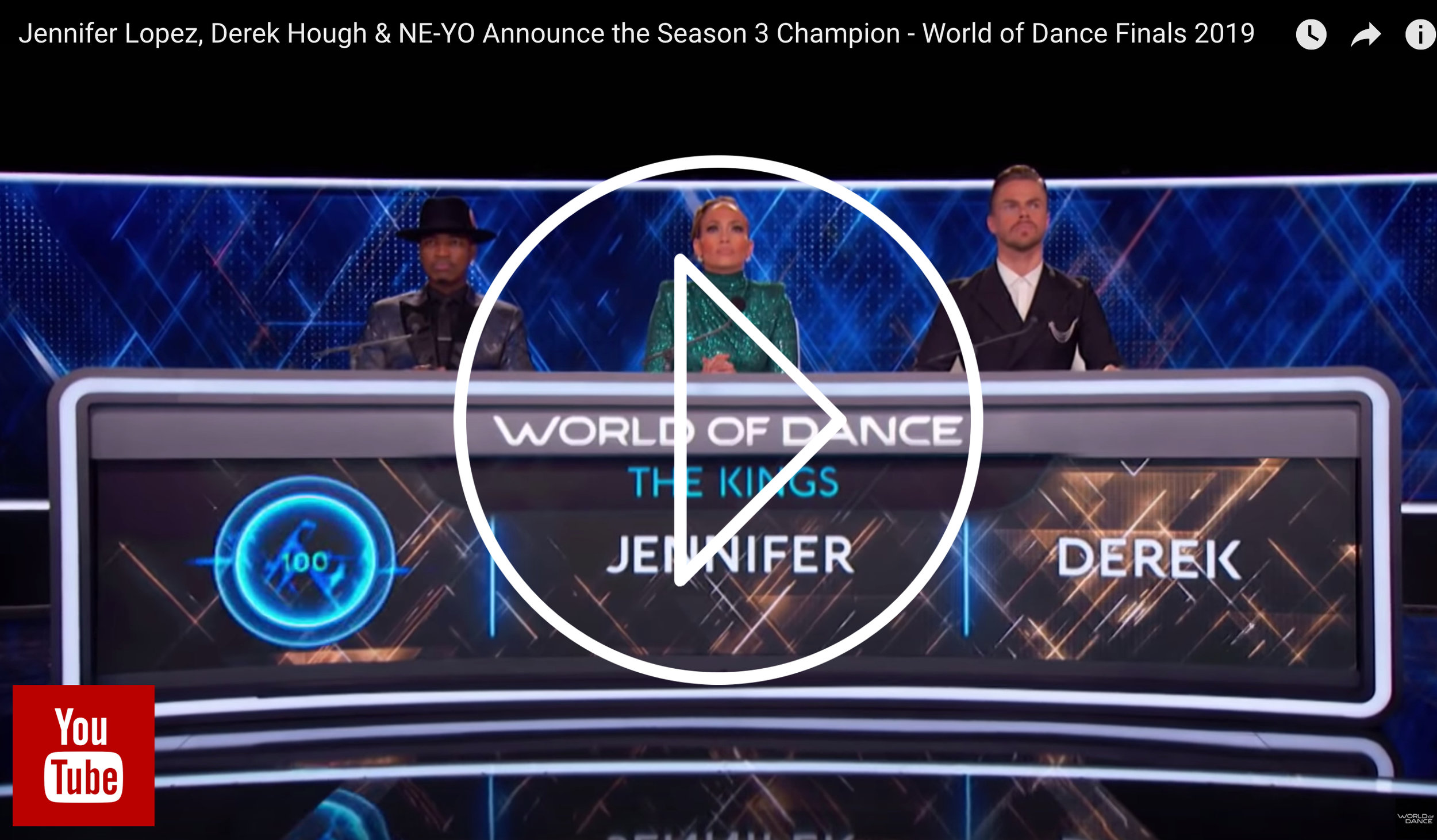 Check out Our Time in the season finale of World of Dance!