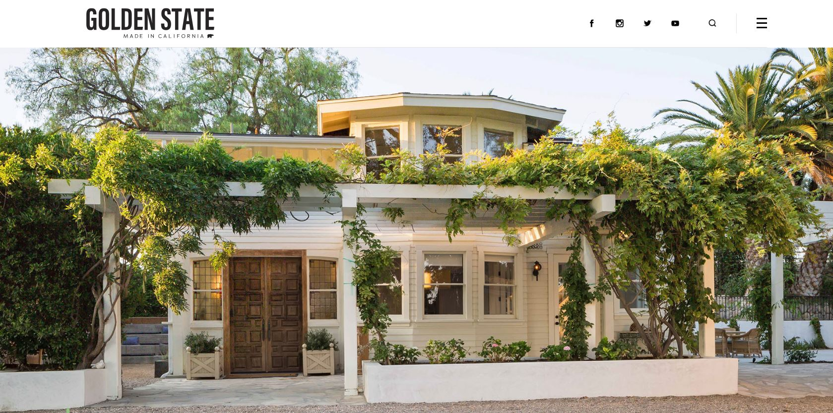 GOLDEN STATE - HOME + SPACE - A RANCH RESTORATION IN LOS OLIVOS EXUDES RUSTIC CALIFORNIA CHARM