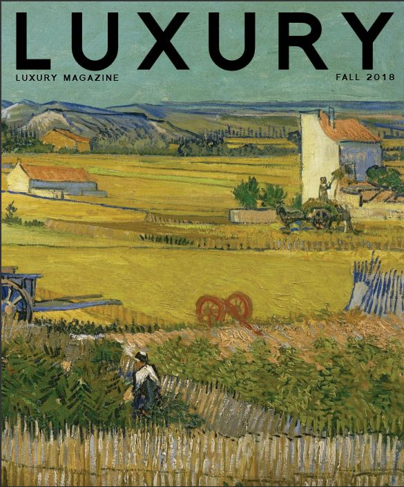 """lUXURY MAGAZINE - FALL 2018 - OUTSIDE IN - HOME THAT GIVE NEW MEANING TO THE PHRASE """" CONNECTING WITH NATURE"""""""